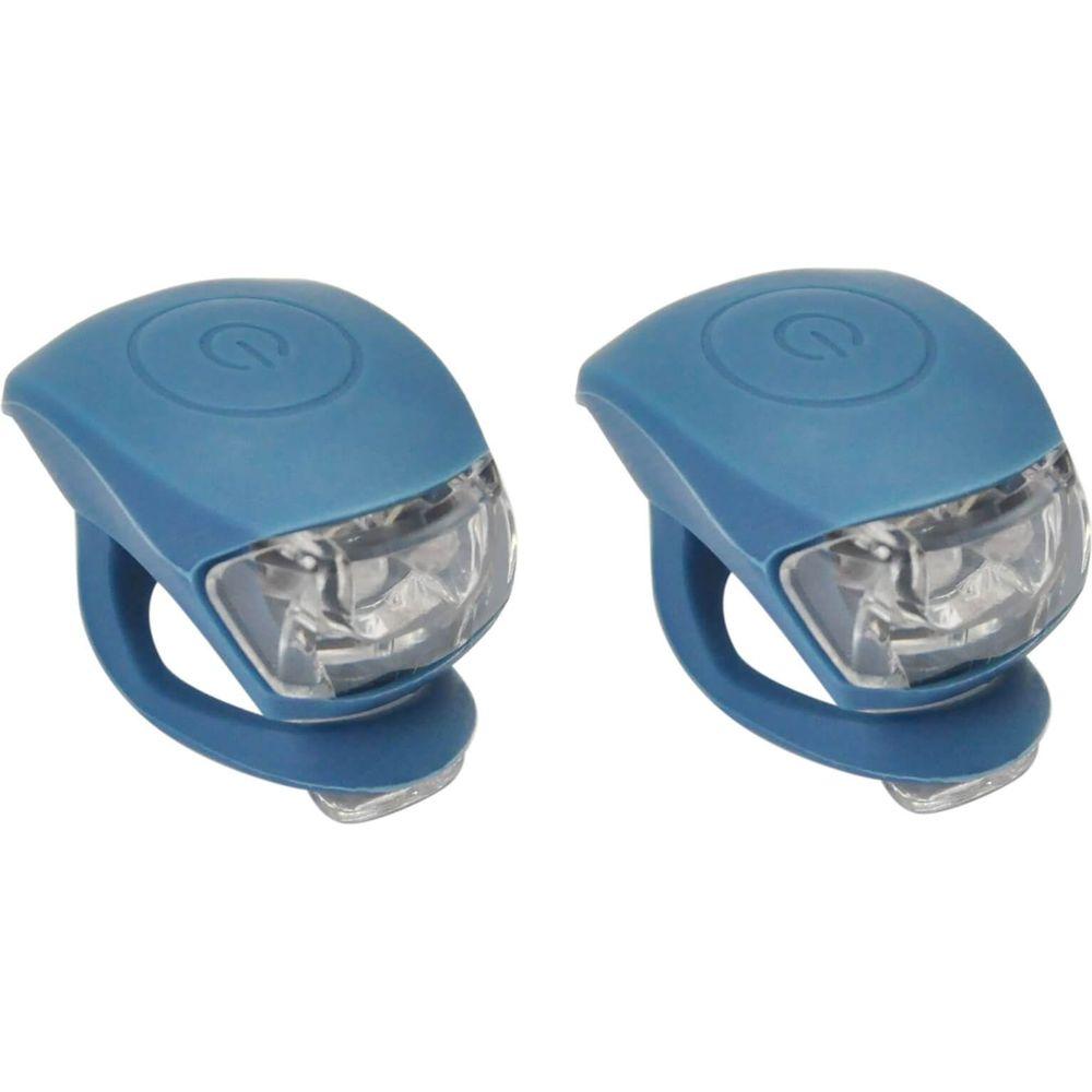 UP Siliconen LED Fietslampjes set Jeans Blauw