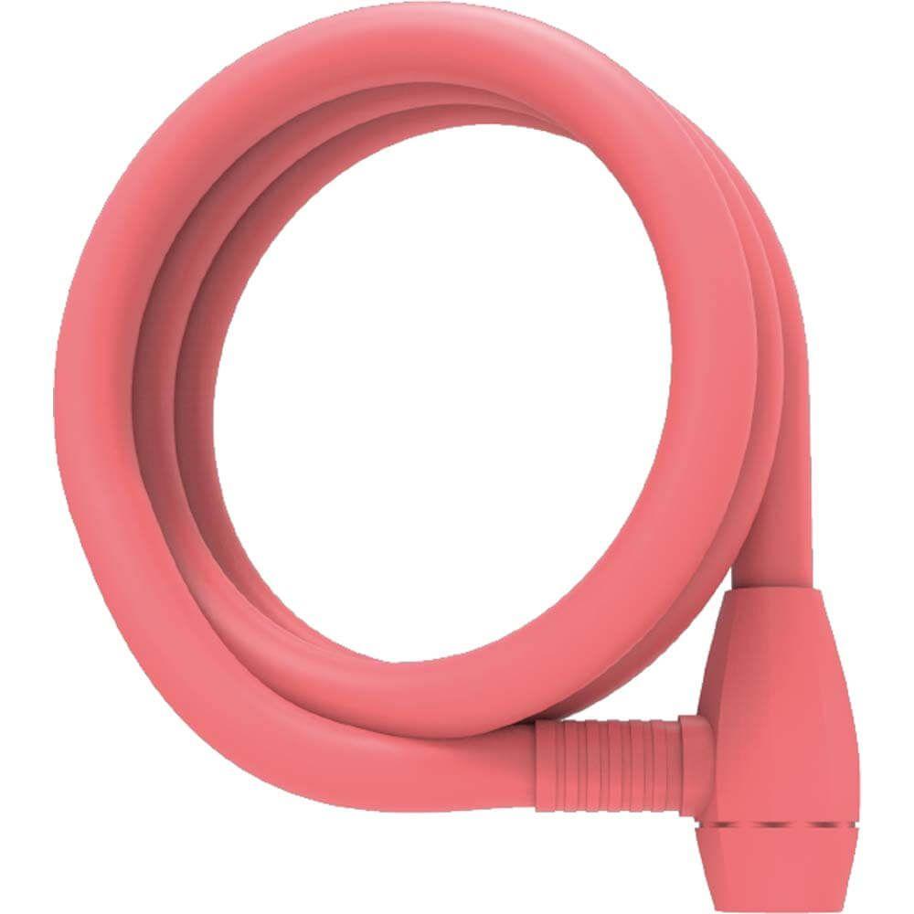 UP kabelslot 12mm 150cm Mat Koraal Roze