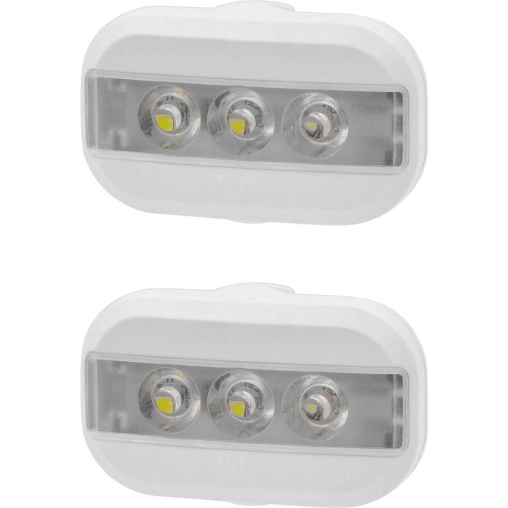 Urban Proof verlichtingsset Clip batterij wit