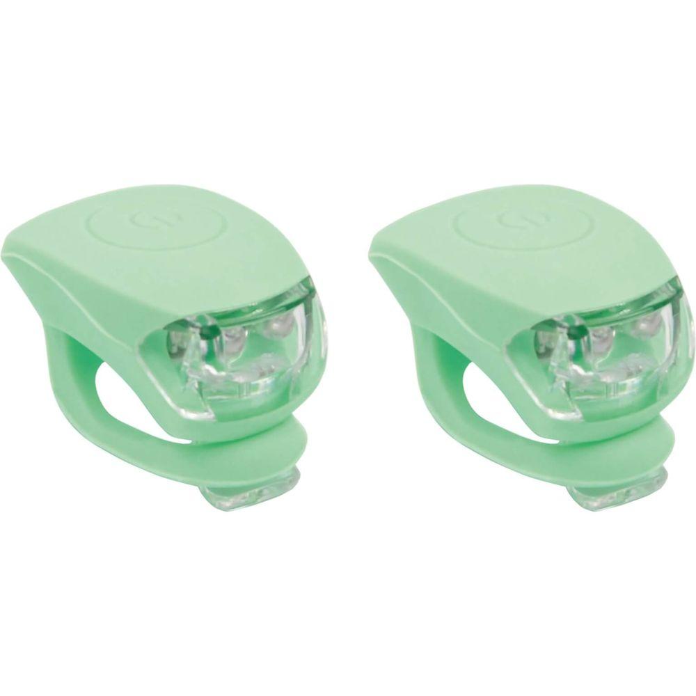 Urban Proof verlichtingsset Siliconen batterij pastel groen