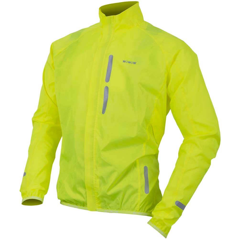 Wowow Bike Wind Jacket geel S