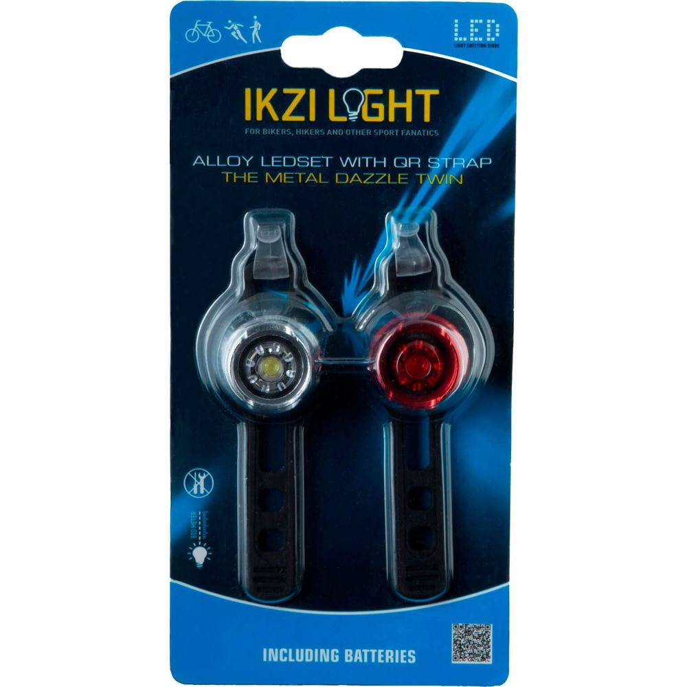 IKZI Light verlichtingsset The Metal Dazzle Twin batterij
