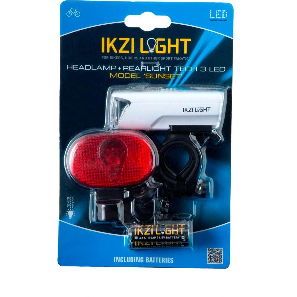Lamp v+a led light 1led koplamp + 3led achterlicht