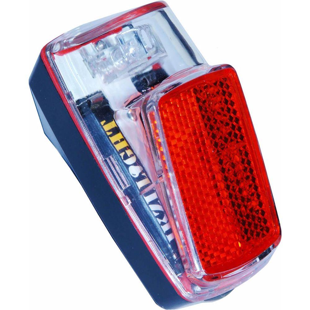 Ikzi achterlamp 1 led spatbord achterlicht