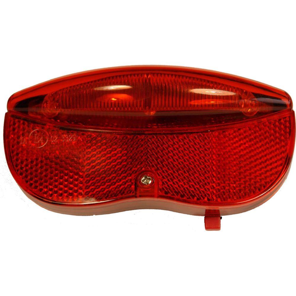 Ikzi achterlamp 3 led reflector (8cm)
