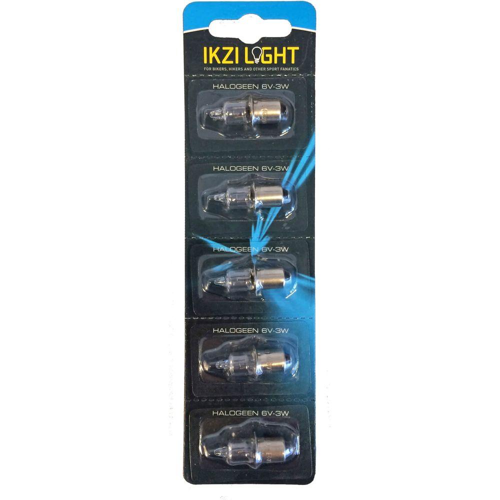 Ikzi halogeen lampje 6V-3W, (5)