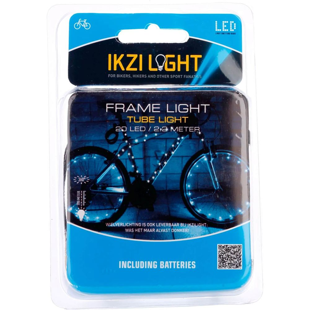 IKZI Light framelicht Tube light 20 led batterij 220cm