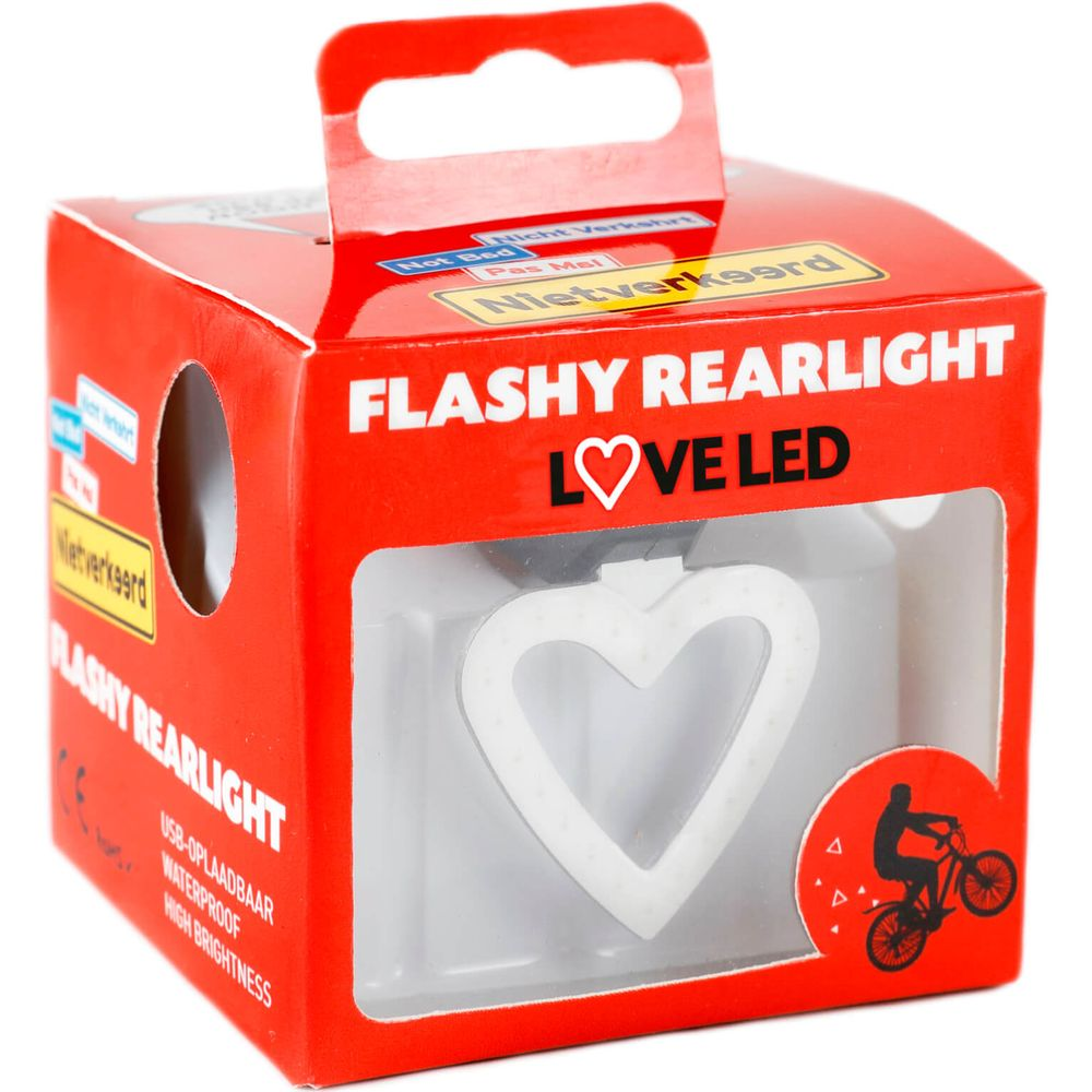 Nietverkeerd achterlamp led flashy loveled usb