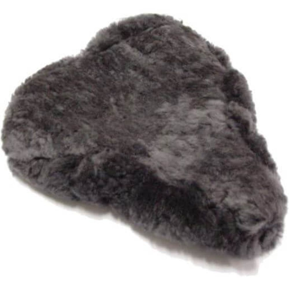 BD0302A Zadeldek schapenvacht grijs