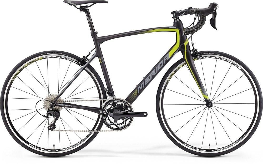 RIDE 4000 SILK CARBON/LIME/GREY M-L