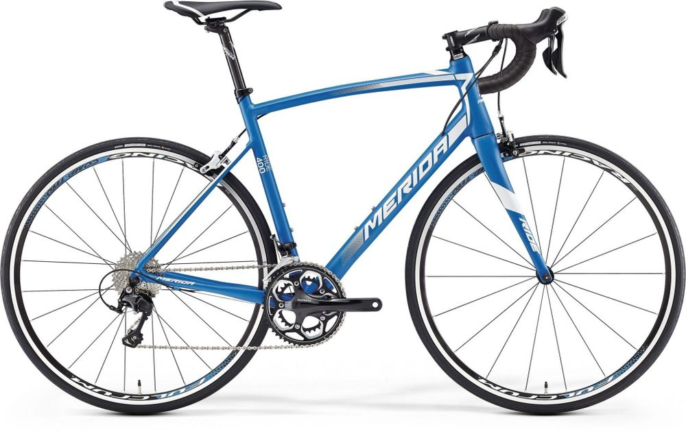 RIDE 400 SILK BLUE/WHITE S-M