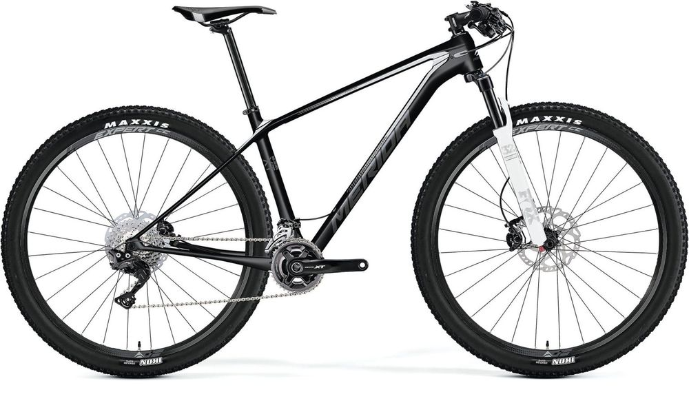 Merida Big Nine Xt Matt Carbon/white/grey 19