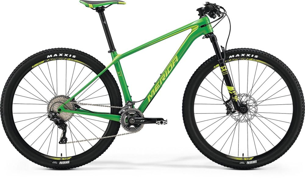 Merida Big Nine Xt Shiny Green/green 19