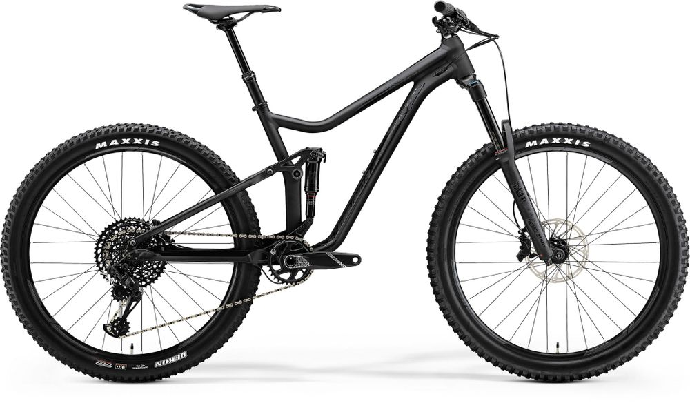 ONE-FORTY 800 BLACK/SHINY BLACK XL 56CM