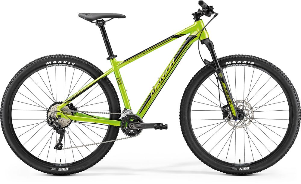 BIG NINE 500 GREEN/BLACK XL 20