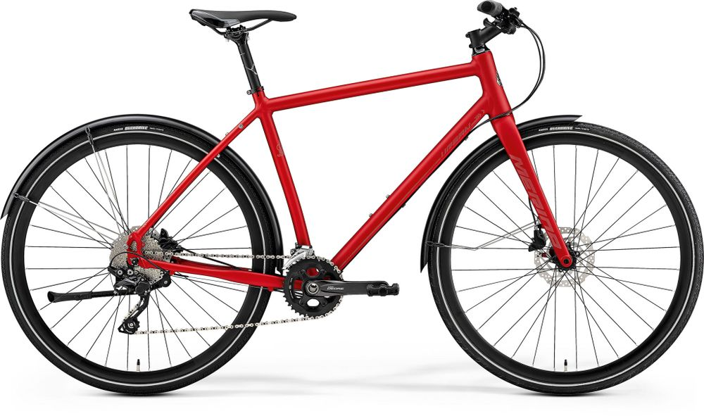 CROSSWAY URBAN 500 MATT MET RED/REFLECTIVE RED L 5