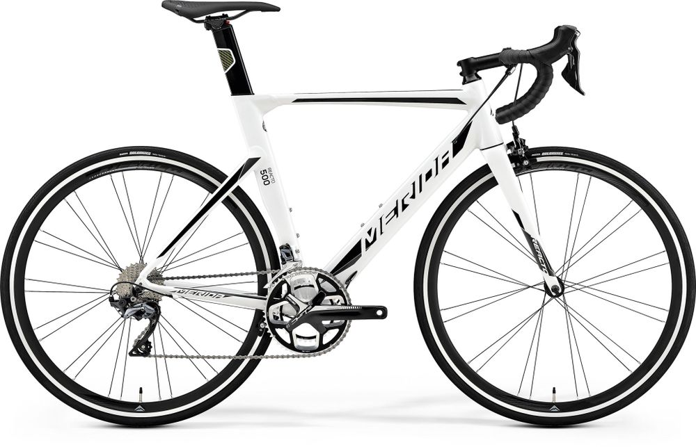 REACTO 500 WHITE/BLACK/SILVER S-M 52CM