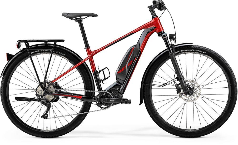 E-BIG NINE 500 EQ RED/BLACK XL 53CM