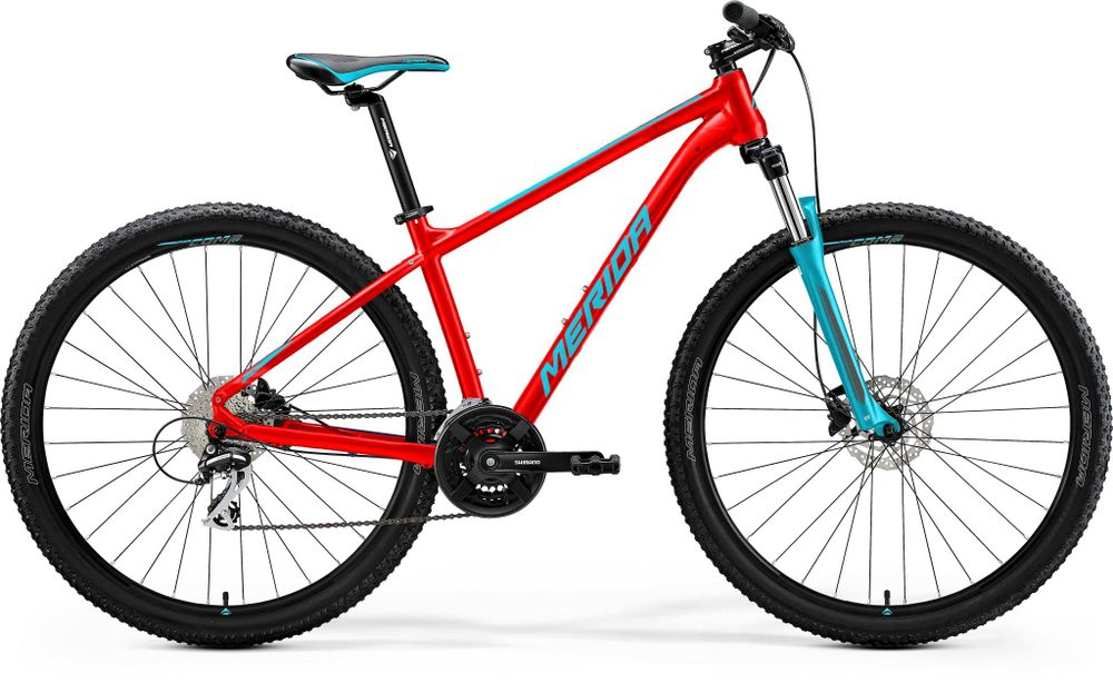 BIG SEVEN 20 MATT RACE RED/TEAL BLUE L 19