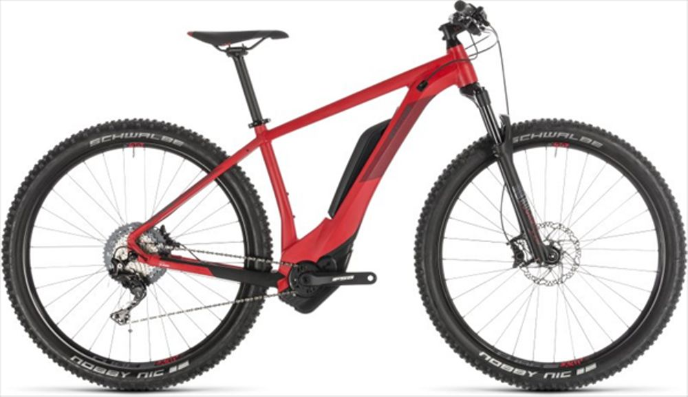 CUBE REACTION HYBRID RACE 500 RED/RED 2019 17