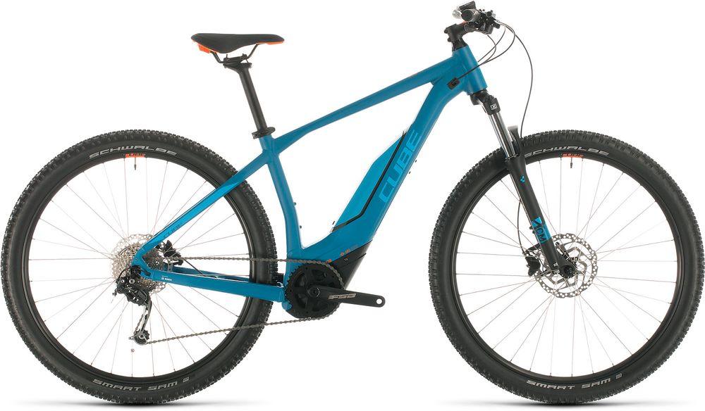 CUBE ACID HYBRID ONE 500 29 BLUE/ORANGE 2020 21