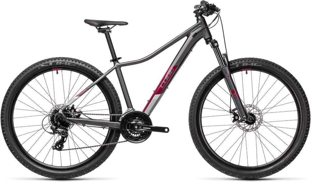 CUBE ACCESS WS GREY/BERRY 2021 13,5