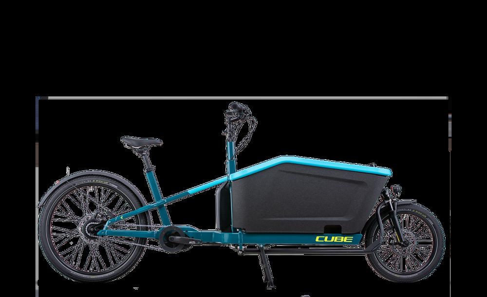 CUBE CARGO HYBRID 500 BLUE/LIME 2022 20