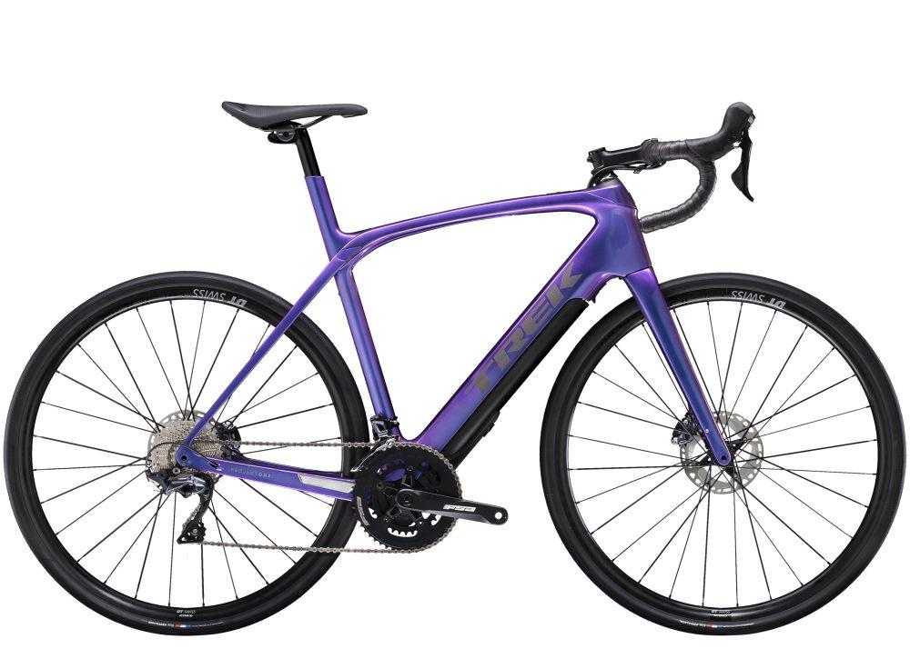 Trek Domane + LT 52 Gloss Purple Flip 260WH