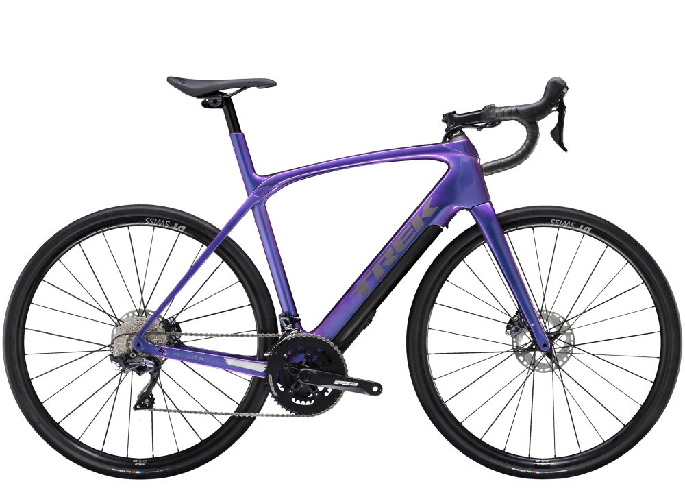 Trek Domane + LT 60 Gloss Purple Flip 260WH