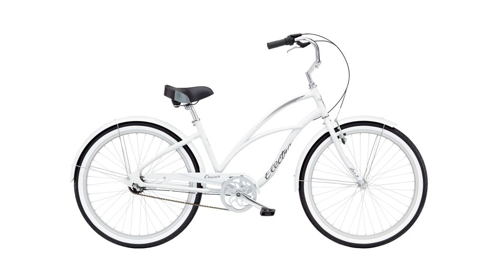 Electra Cruiser Lux 3i Ladies' 24 White NA