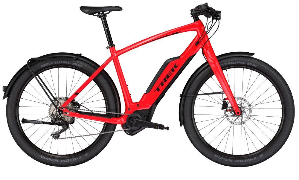 Trek Super Commuter + 8 L Viper Red