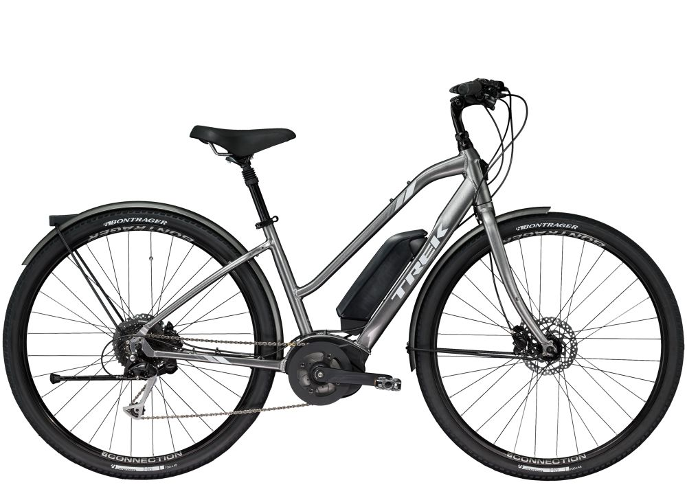 Trek Verve + Low-Step (EU) XS Anthracite 400WH
