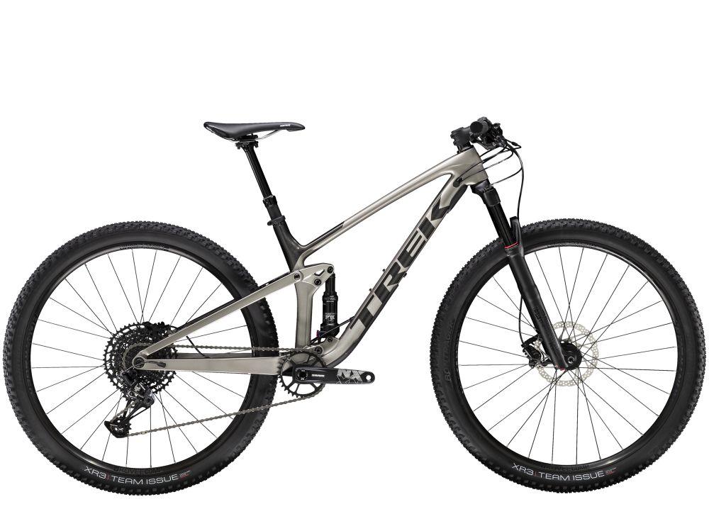 Trek Top Fuel 9.7 NX L Metallic Gunmetal/Dnister Black