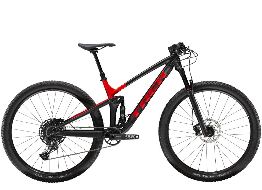 Top Fuel 8 NX ML Matte Trek Black/Gloss Viper Red