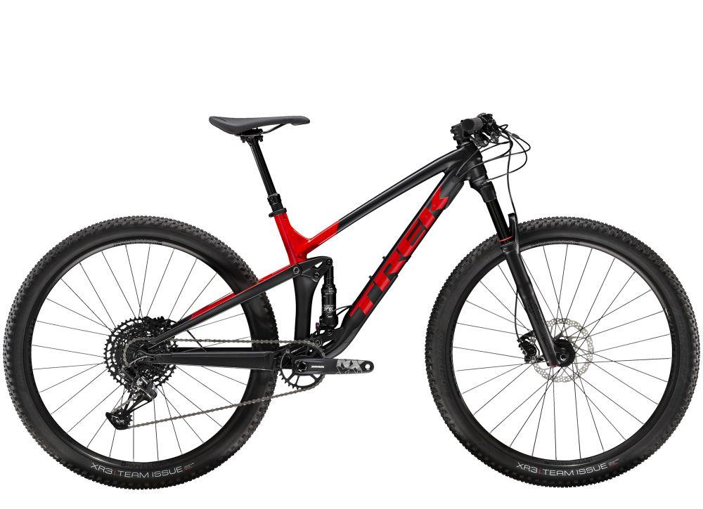Top Fuel 8 NX L Matte Trek Black/Gloss Viper Red N