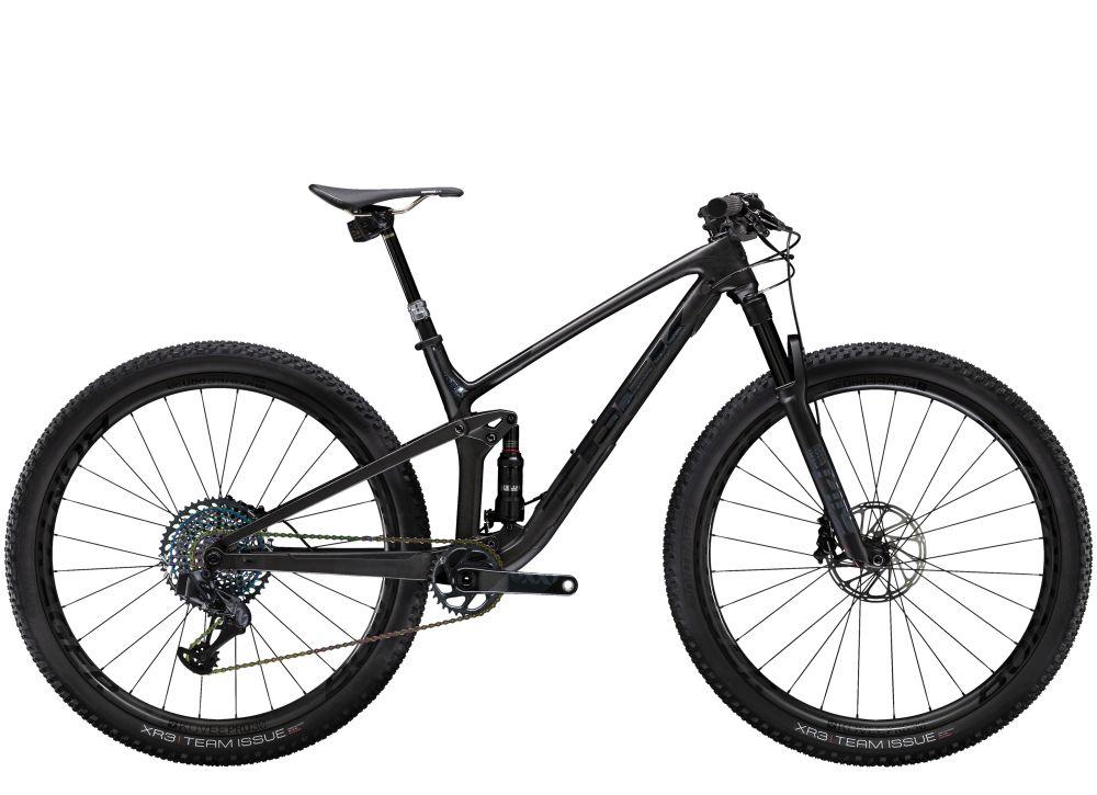 Top Fuel 9.9 XX1 AXS S Matte Carbon/Gloss Trek Bla