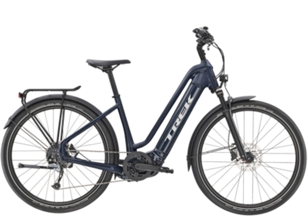 Trek Allant+ 7 Lowstep S Nautical Navy 500WH