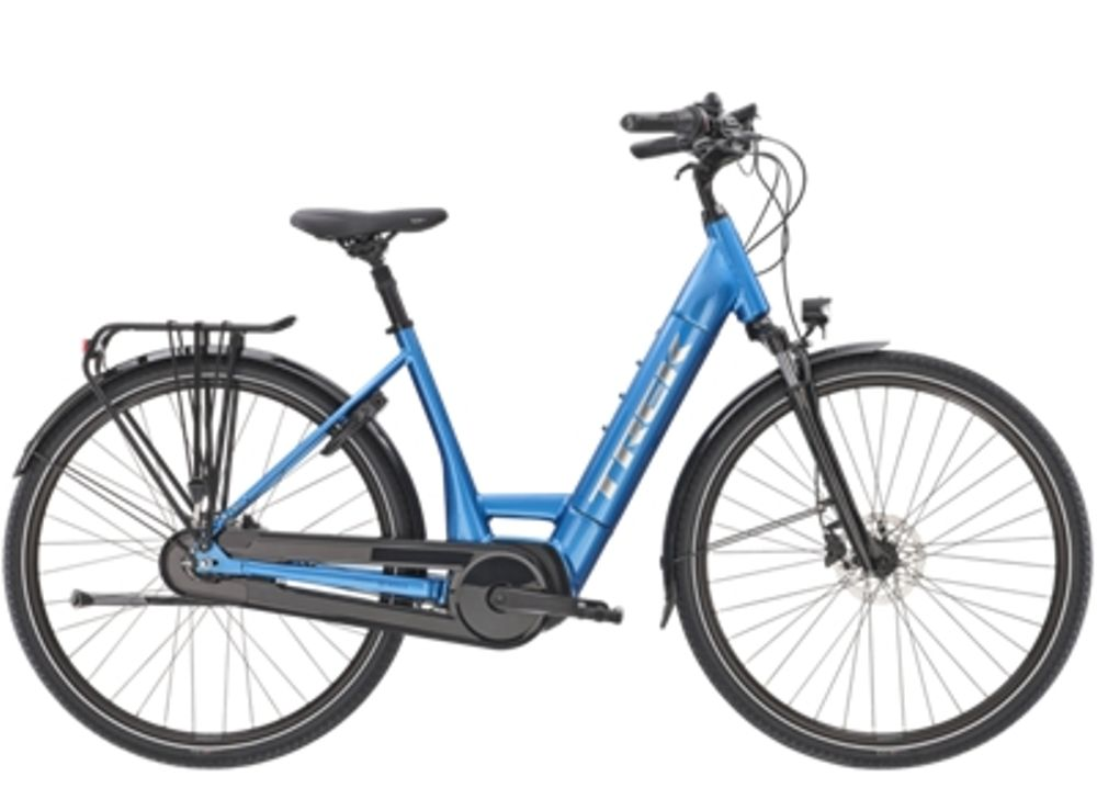 Trek District+ 6 Lowstep L Alpine Blue 400WH