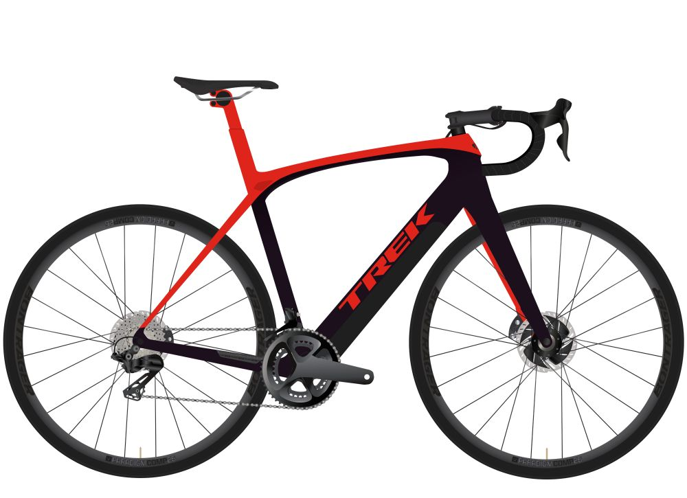 Domane + LT 56 Radioactive Red/Trek Black 260WH