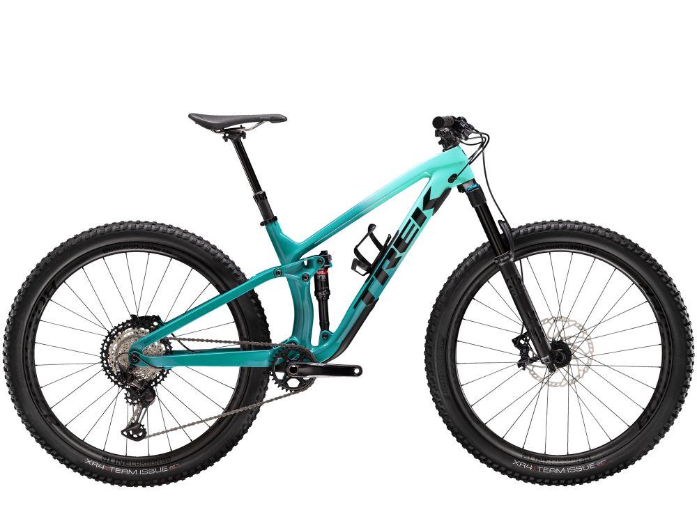 Trek Fuel EX 9.8 XT XS 27.5 Miami Green to Teal Fade NA
