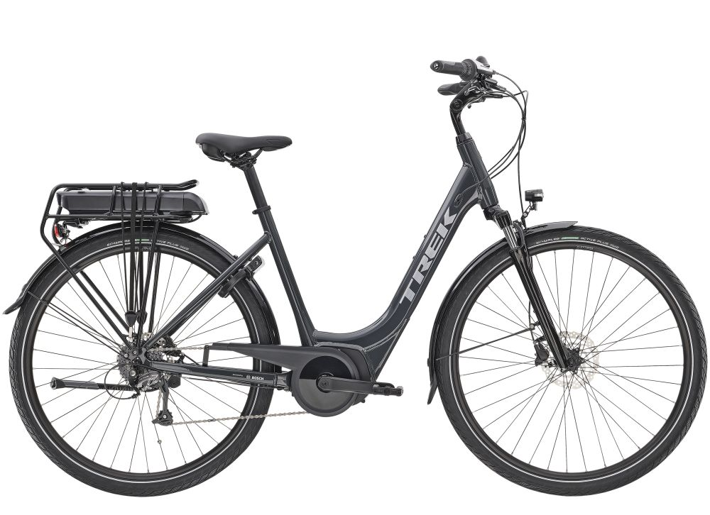 Trek Verve+ 1 Lowstep L Solid Charcoal 400WH