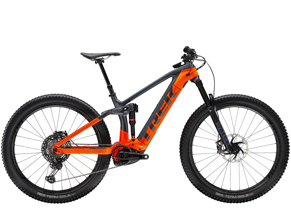 Trek Rail 9.9 XTR EU S Solid Charcoal/Radioactive Orang
