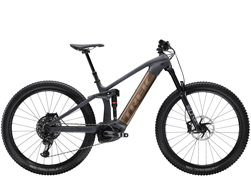 Trek Rail 9.8 GX EU M Solid Charcoal to Root Beer Ano D