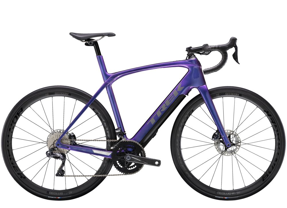 Trek Domane + LT 7 60 Gloss Purple Flip 260WH