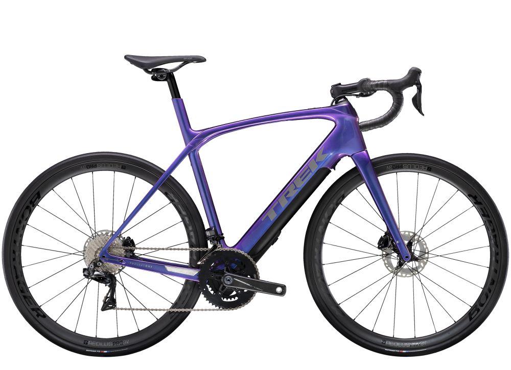 Trek Domane + LT 9 50 Gloss Purple Flip 260WH