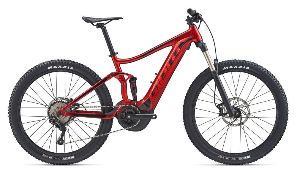 Giant Stance E+ 2 Power 25km/h L Red