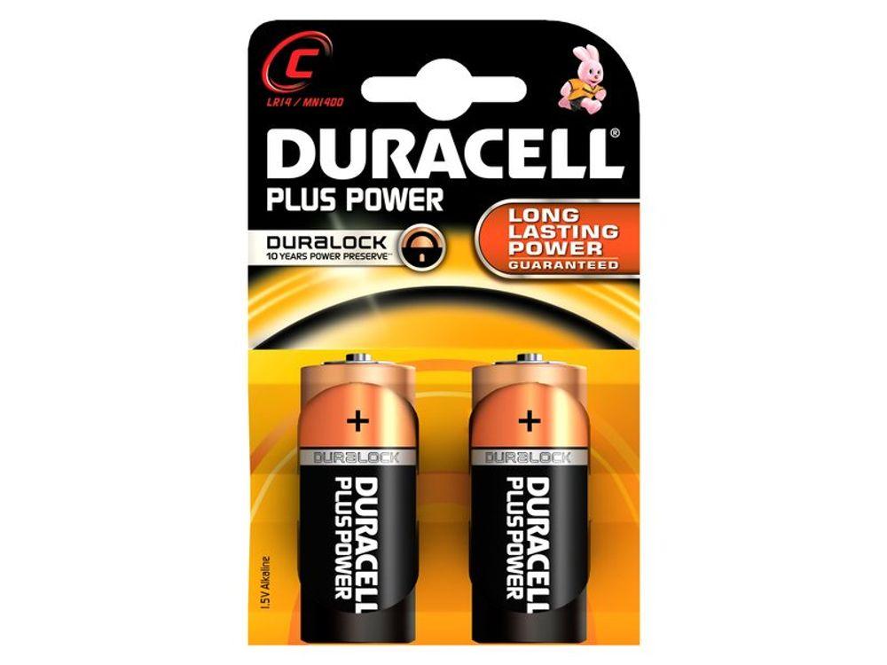 Duracell batterij plus power lr14 c (2)