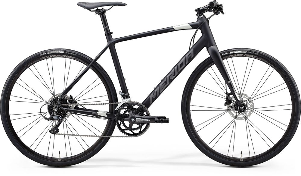 Merida Speeder 200 Matt Black/silver L 56cm