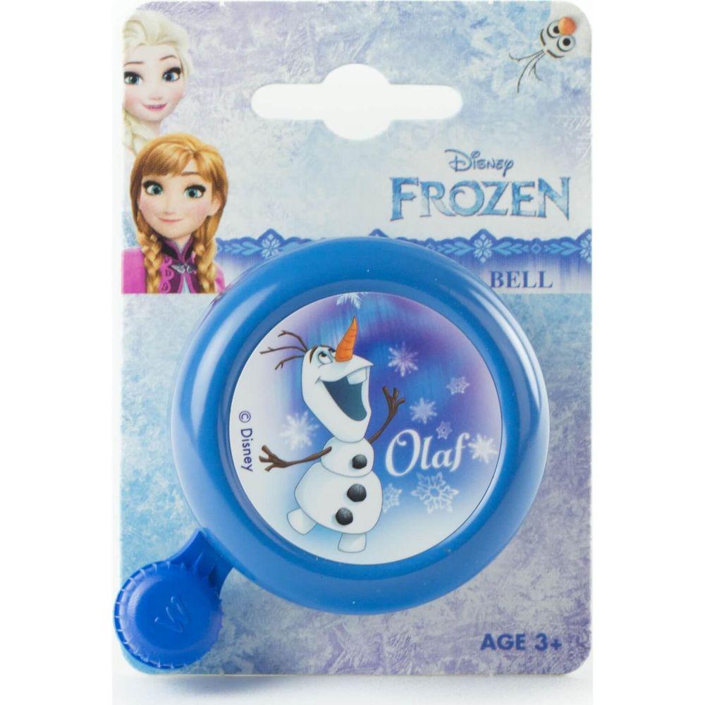 Widek kinderbel Frozen blauw op kaart