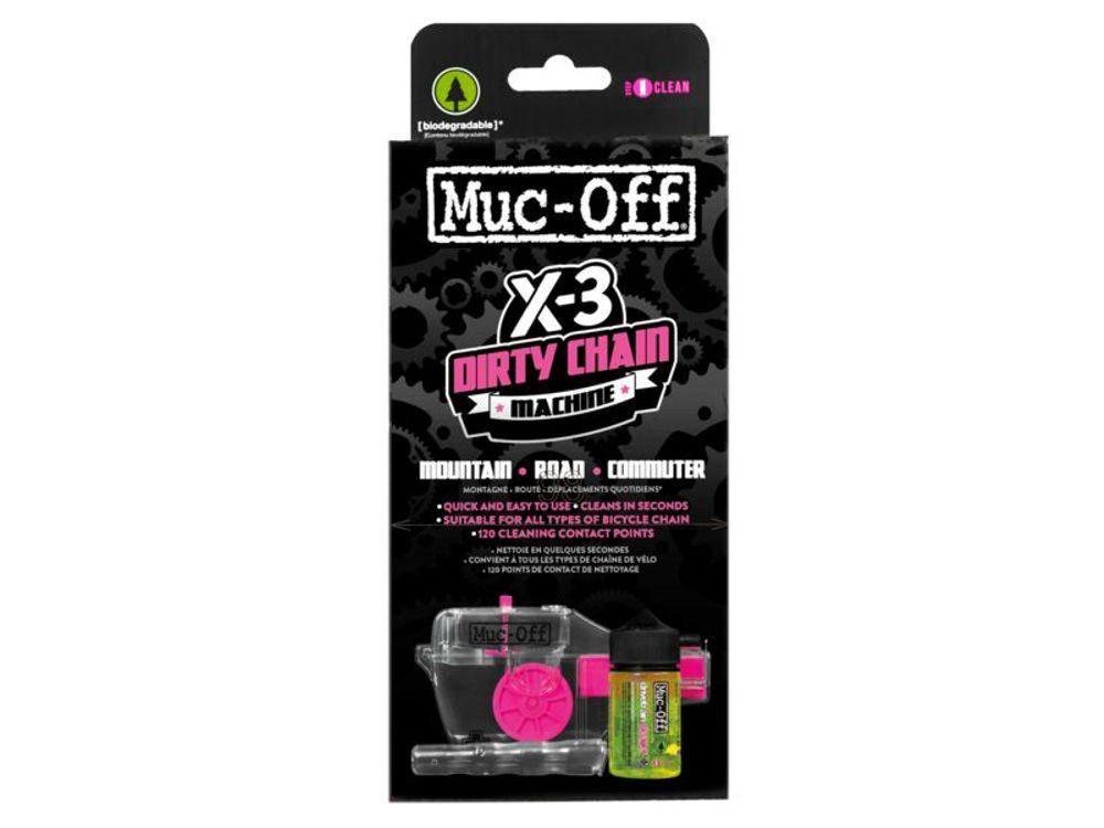 Muc-off x3 dirty chain machine kettingreiniger